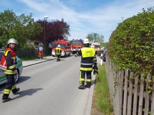 Gemeldeter schwerer Verkehrsunfall