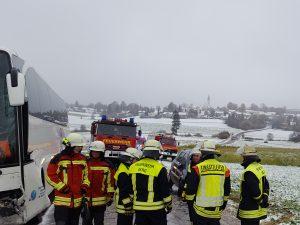 Schwerer Verkehrsunfall zum ersten Schneefall