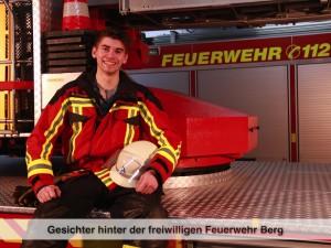Gesichter der Freiwilligen Feuerwehr Berg – M. Stadler