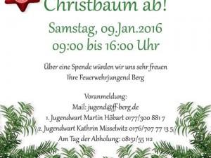 Christbaum Sammeln!