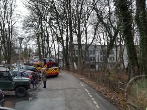 Automatische Brandmeldung in Schule