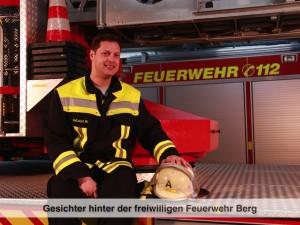 Gesichter der Freiwilligen Feuerwehr Berg – M. Adlouni