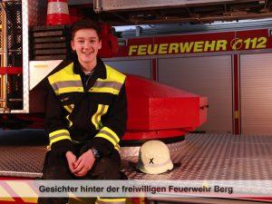 Gesichter der Freiwilligen Feuerwehr Berg – M. Fent