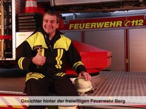 Gesichter der Freiwilligen Feuerwehr Berg – M. Berger