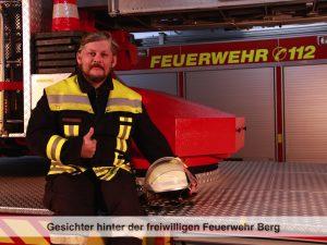 Gesichter der Freiwilligen Feuerwehr Berg – R. Wegscheider