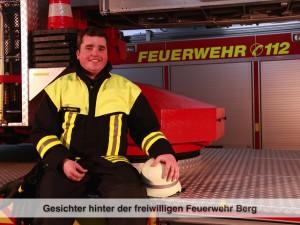 Gesichter der Freiwilligen Feuerwehr Berg – M. Stumpfe