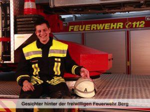 Gesichter der Freiwilligen Feuerwehr Berg – S. Schweiberger