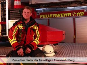 Gesichter der Freiwilligen Feuerwehr Berg – F. Höbart