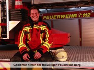Gesichter der Freiwilligen Feuerwehr Berg – M. Höbart