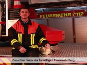 Gesichter der Freiwilligen Feuerwehr Berg – T. Völkl