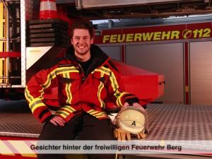 Gesichter der Freiwilligen Feuerwehr Berg – N. Moosburger