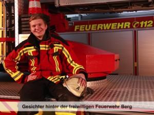 Gesichter der Freiwilligen Feuerwehr Berg – F. Leichmann