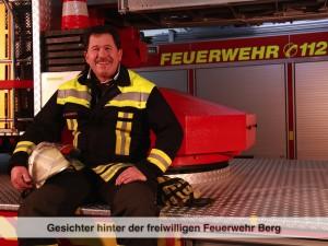 Gesichter der Freiwilligen Feuerwehr Berg – G. Haslbeck