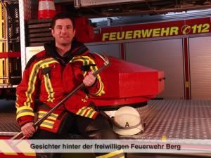 Gesichter der Freiwilligen Feuerwehr Berg – F. Knappe