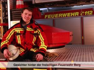 Gesichter der Freiwilligen Feuerwehr Berg – M. Graf
