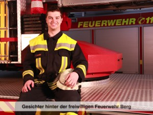 Gesichter der Freiwilligen Feuerwehr Berg – T. Lindner