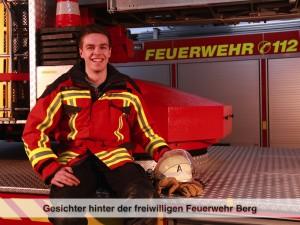 Gesichter der Freiwilligen Feuerwehr Berg – M. Zerndl