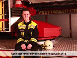 Gesichter der Freiwilligen Feuerwehr Berg – S. Steigenberger