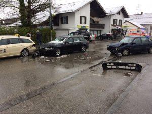 Unfall in Aufkirchen …
