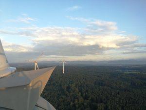 Schulung Windkraftanlagen – was für eine Höhe, was für eine Aussicht!