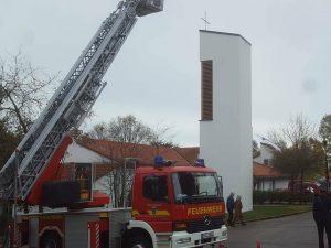 Einweihung Glockenturm