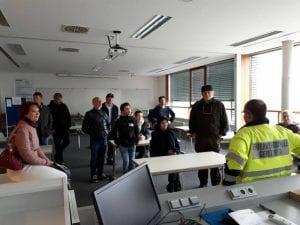 Vereinsausflug zur Feuerwehrschule Geretsried