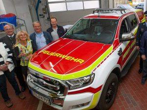 Spenderveranstaltung und Weihe neues First Responder Fahrzeug