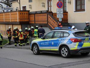Gasaustritt in Beherbergungsbetrieb & BMA Einsatz