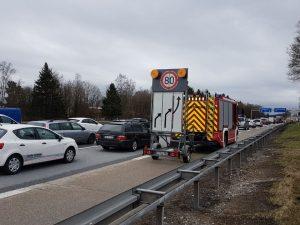 Einsatz BMA und Autobahn