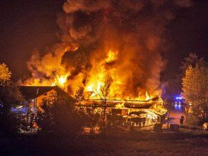 Brand landwirtschaftliches Anwesen / Gewerbe