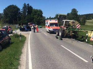 5. Einsatz in der Woche – Verkehrsunfall