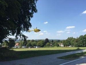 Einige Einsätze in Sommerpause… heute, Brandmeldung und Verkehrsunfall