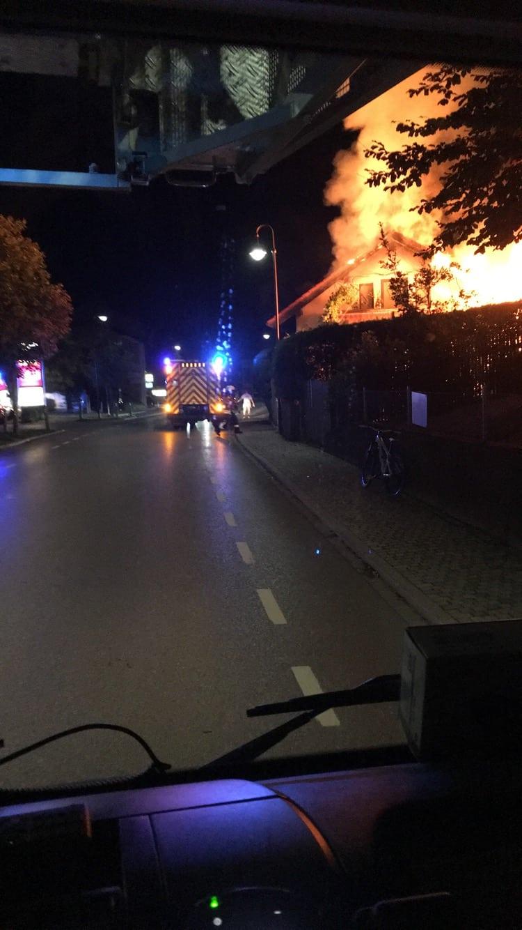 Erneuter Brandeinsatz in Berg und Leoni