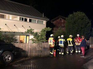 Gasaustritt in Gebäude