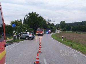 Verkehrsunfall am Ortsausgang