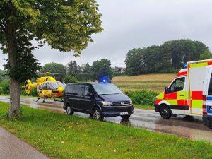 Einsatz #57/2020 – Verkehrsunfall schwer, Person eingeklemmt