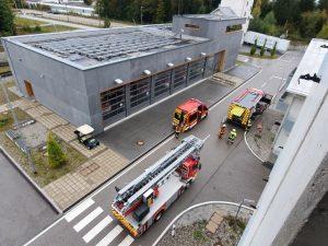 Übungstag an der Staatlichen Feuerwehrschule Geretsried