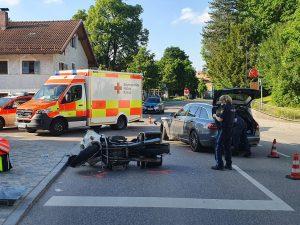 Von Keksen und Unverständnis – Verkehrsunfall im Ortszentrum