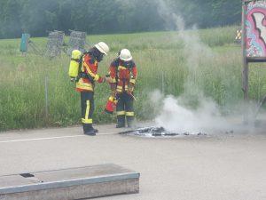 Kleinbrand, Verkehrsunfall & Pannenhilfe